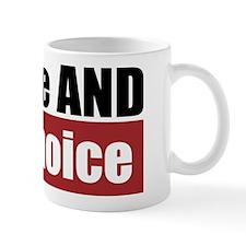 Pro-Life Pro-Choice Mug