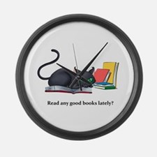 Read any good books lately? Large Wall Clock