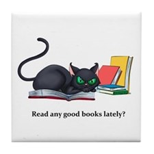 Read any good books lately? Tile Coaster
