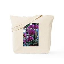 Purple Moth Orchid Tote Bag