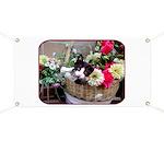 Kitten in a Basket Banner