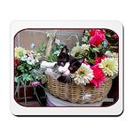 Kitten in a Basket Mousepad