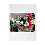 Kitten in a Basket Twin Duvet