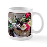 Kitten in a Basket Mug