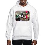 Kitten in a Basket Hooded Sweatshirt