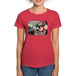Kitten in a Basket Women's Dark T-Shirt