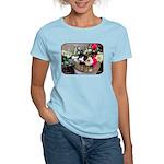 Kitten in a Basket Women's Light T-Shirt