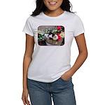 Kitten in a Basket Women's T-Shirt