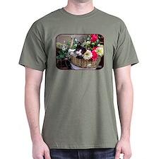 Kitten in a Basket T-Shirt