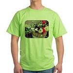 Kitten in a Basket Green T-Shirt
