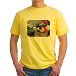 Kitten in a Basket Yellow T-Shirt