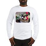 Kitten in a Basket Long Sleeve T-Shirt