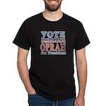 Vote Oprah for President Black T-Shirt