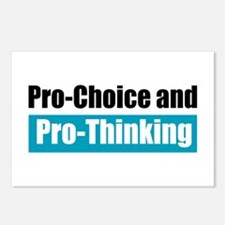 Pro-Choice Pro-Thinking Postcards (Package of 8)