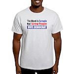 Scruple Not Screw People Ash Grey T-Shirt