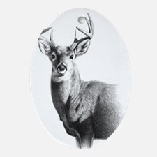 Whitetail Ornament (Oval)
