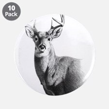 """Whitetail 3.5"""" Button (10 pack)"""
