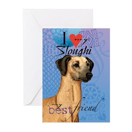 Sloughi Greeting Cards (Pk of 10)