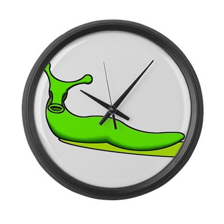 Acid Slug Large Wall Clock