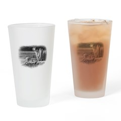 Cougars Drinking Glass