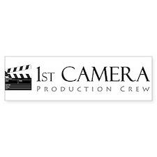 First 1st Camera Bumper Sticker