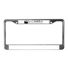 First 1st Camera License Plate Frame