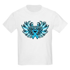 Prostate Cancer Heart Wings T-Shirt