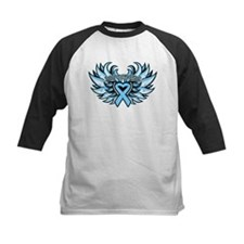 Prostate Cancer Heart Wings Tee