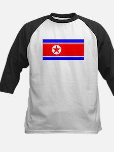 North Korean Blank Flag Tee