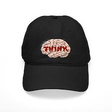 Think Brain Baseball Hat