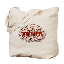 Think Brain Tote Bag