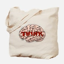Think Brain Tote Bag