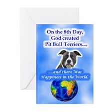 Cool Pit bull terrier items Greeting Cards (Pk of 10)