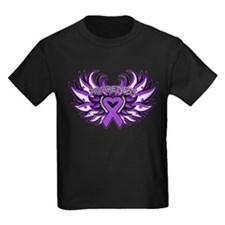 Pancreatic Cancer Heart Wings T