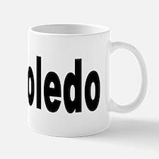 I Love Toledo Ohio Mug