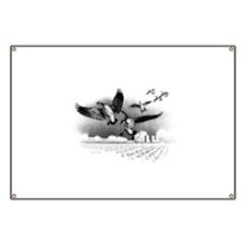 Canadian Geese Banner