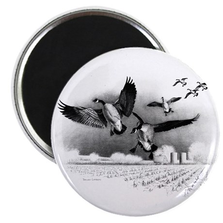 """Canadian Geese 2.25"""" Magnet (100 pack)"""