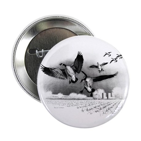 """Canadian Geese 2.25"""" Button (100 pack)"""