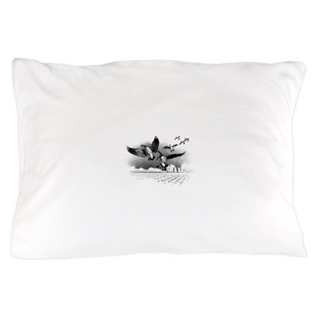 Canadian Geese Pillow Case