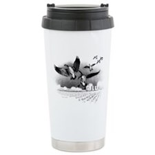 Canadian Geese Travel Coffee Mug