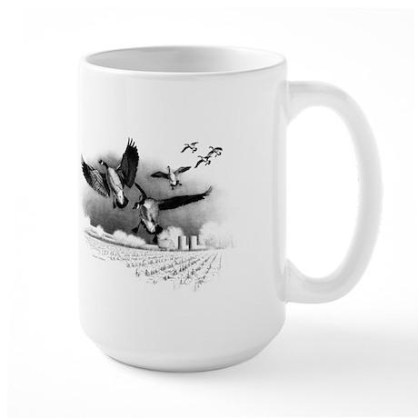 Canadian Geese Large Mug