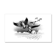 Canadian Geese Car Magnet 20 x 12