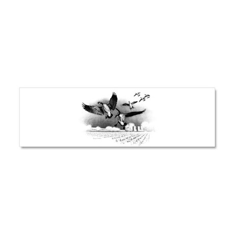 Canadian Geese Car Magnet 10 x 3