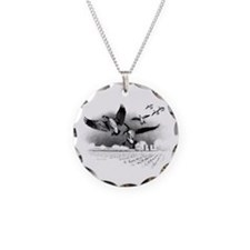Canadian Geese Necklace