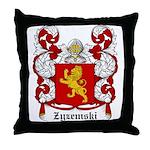Zyzemski Coat of Arms Throw Pillow