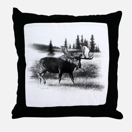 Northern Disposition Throw Pillow