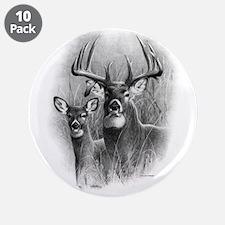 """Big Buck 3.5"""" Button (10 pack)"""