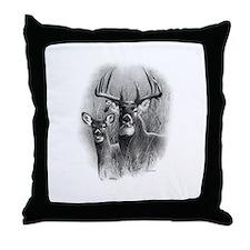Big Buck Throw Pillow