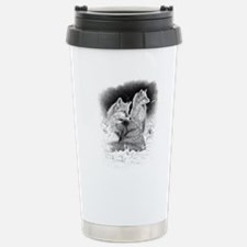 Foxes.tif.png Travel Mug
