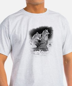 Foxes.tif.png T-Shirt